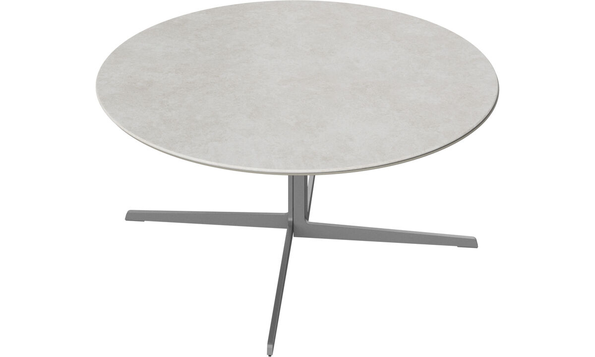 Coffee tables - Sevilla coffee table - round - Grey - Ceramic