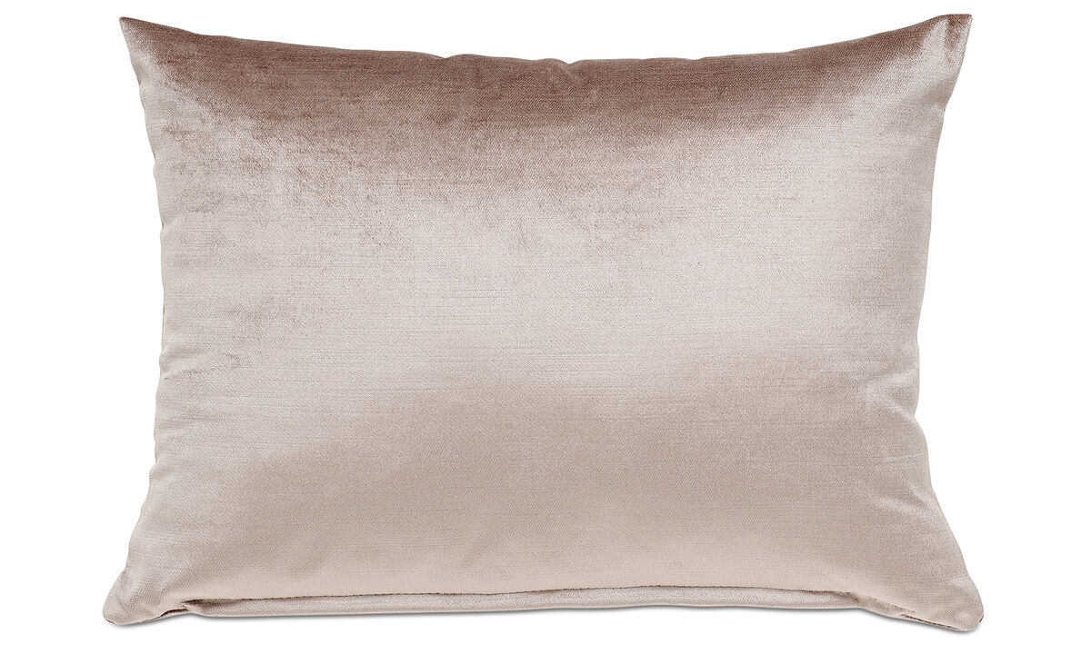 Velvet cushions - Velvet cushion - Beige - Fabric