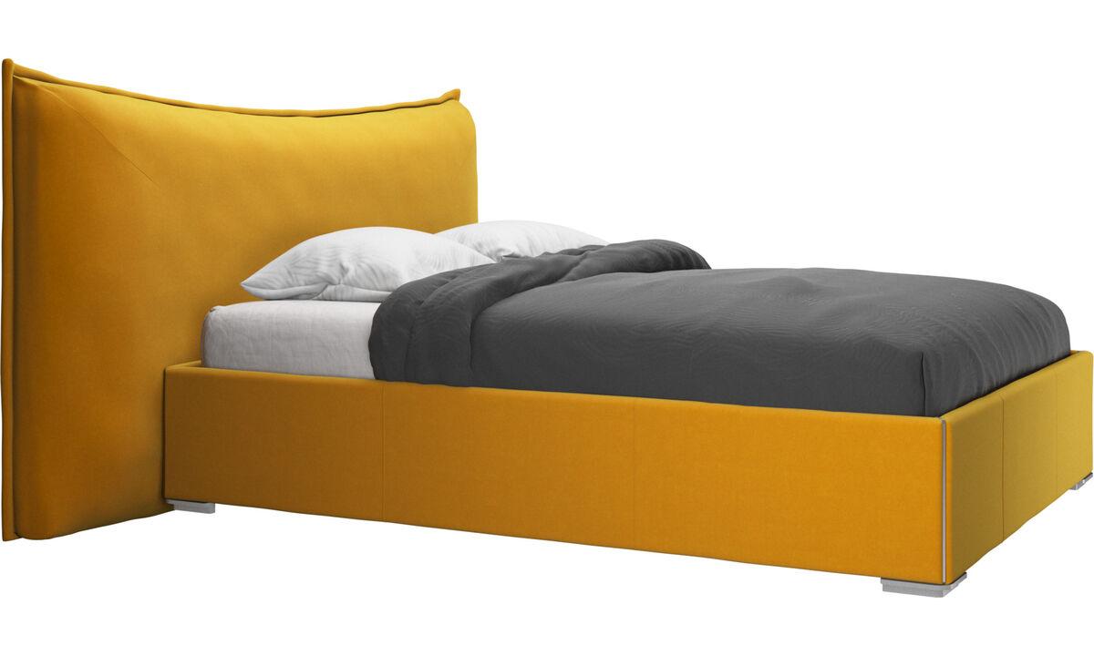 Beds - Gent bed, excl. mattress - Orange - Fabric