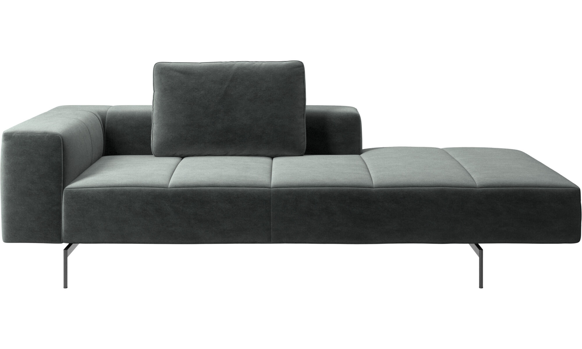 Merveilleux Chaise Lounge Sofas   Amsterdam Lounging Module For Sofa, Medium Armrest  Right   Green