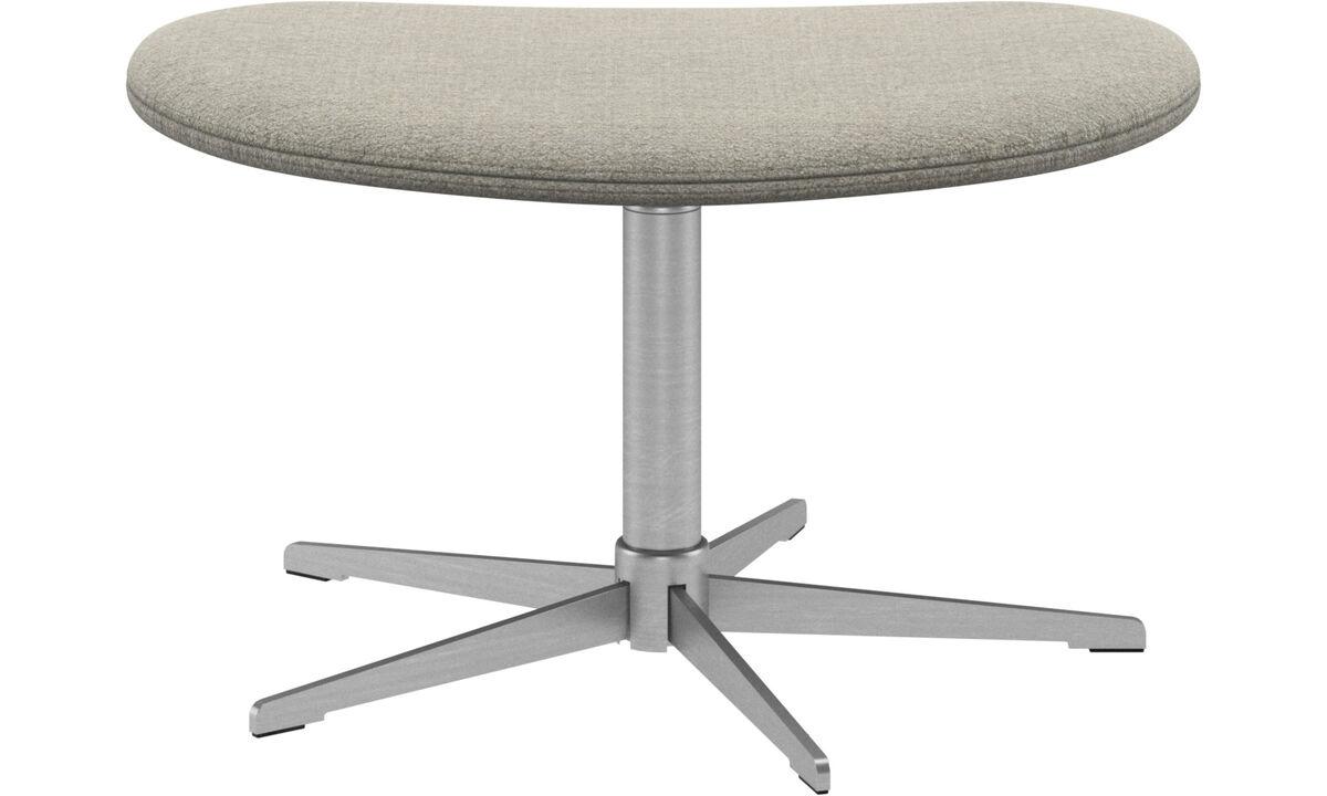 Footstools - Ogi footstool - Beige - Fabric