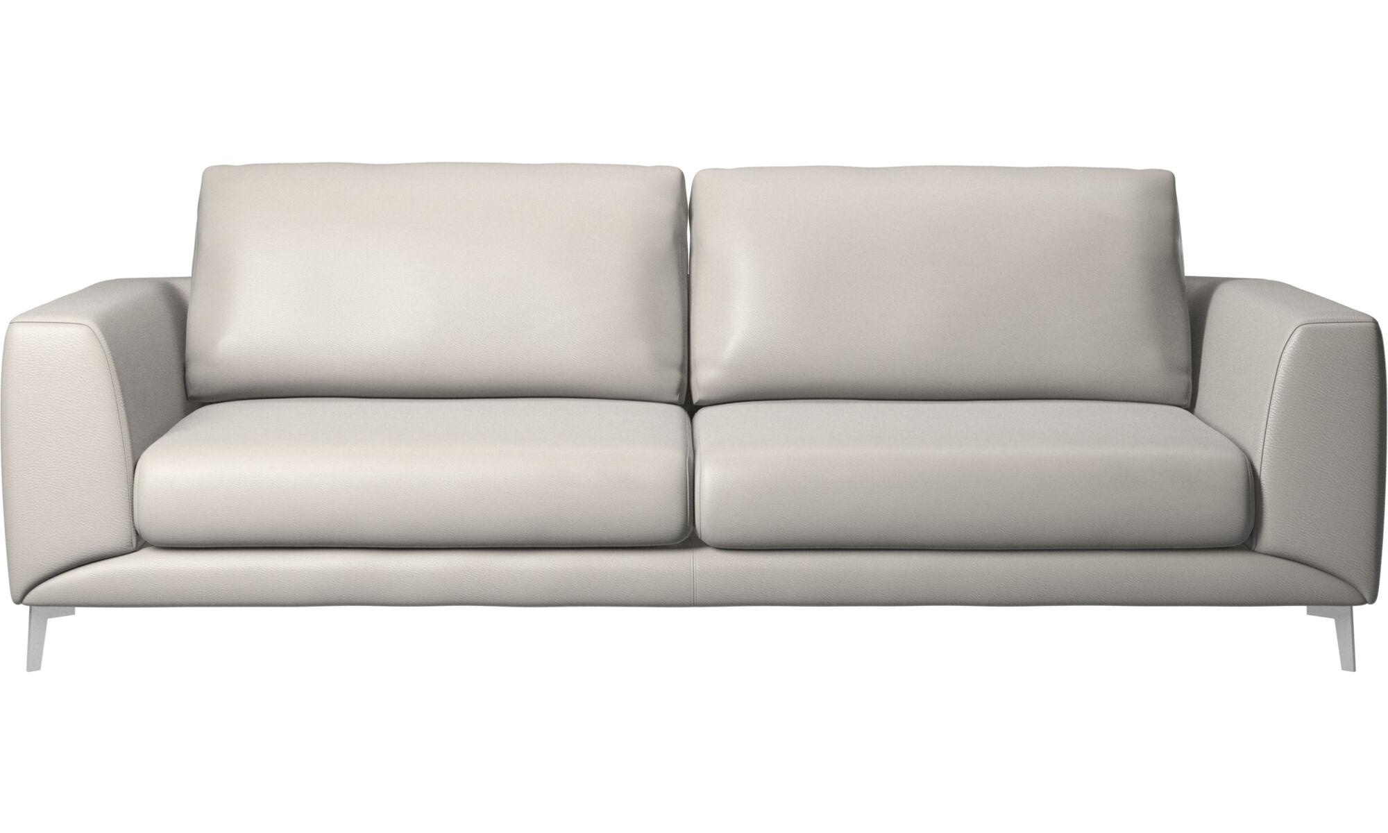 3 Seater Sofas   Fargo Sofa   Grey   Leather