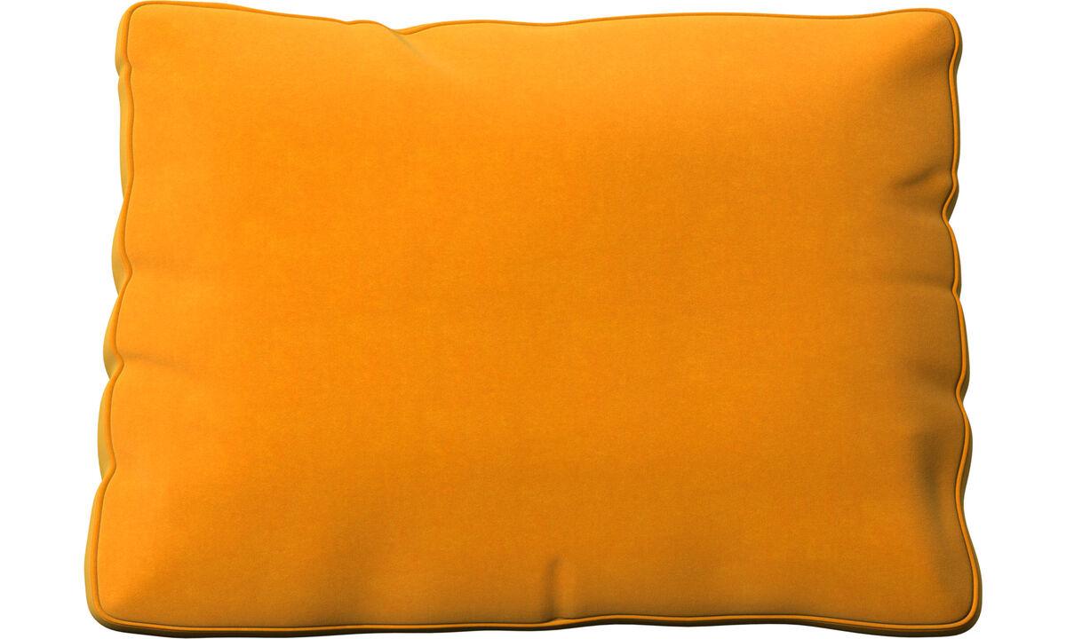 Accesorios para muebles - Cojín Miami - Naranja - Tela