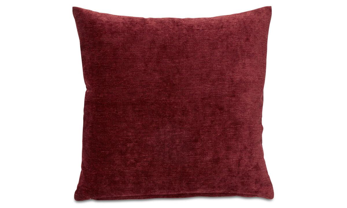Velvet cushions - Velvet rough cushion - Orange - Fabric