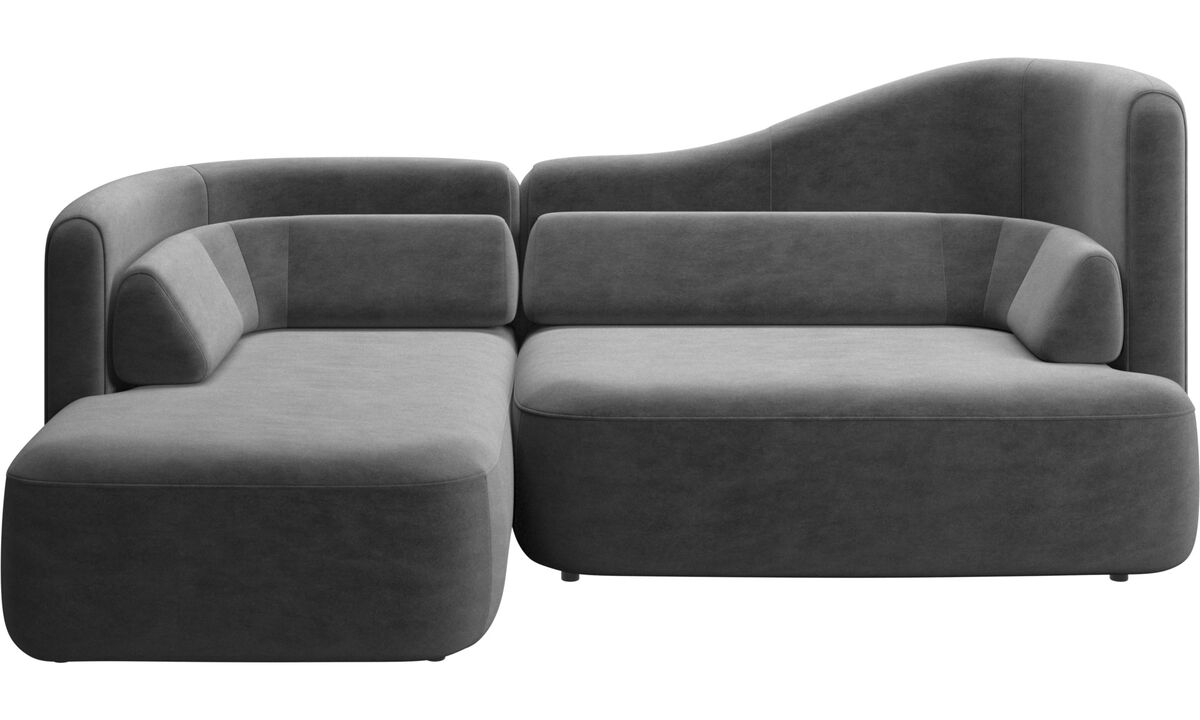 New designs - Ottawa sofa - Gray - Fabric