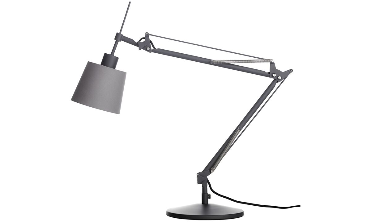 New designs - Berlin table lamp - Grey - Metal