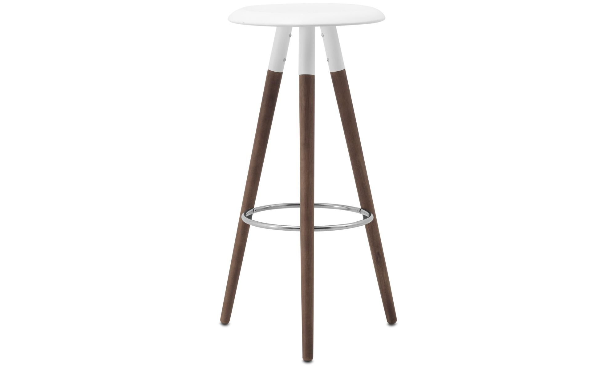 new designs vig barstool white lacquered