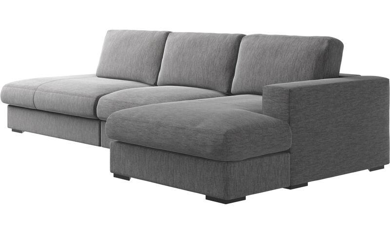 Canapés 3 places canapé Cenova avec méri nne et chaise longue