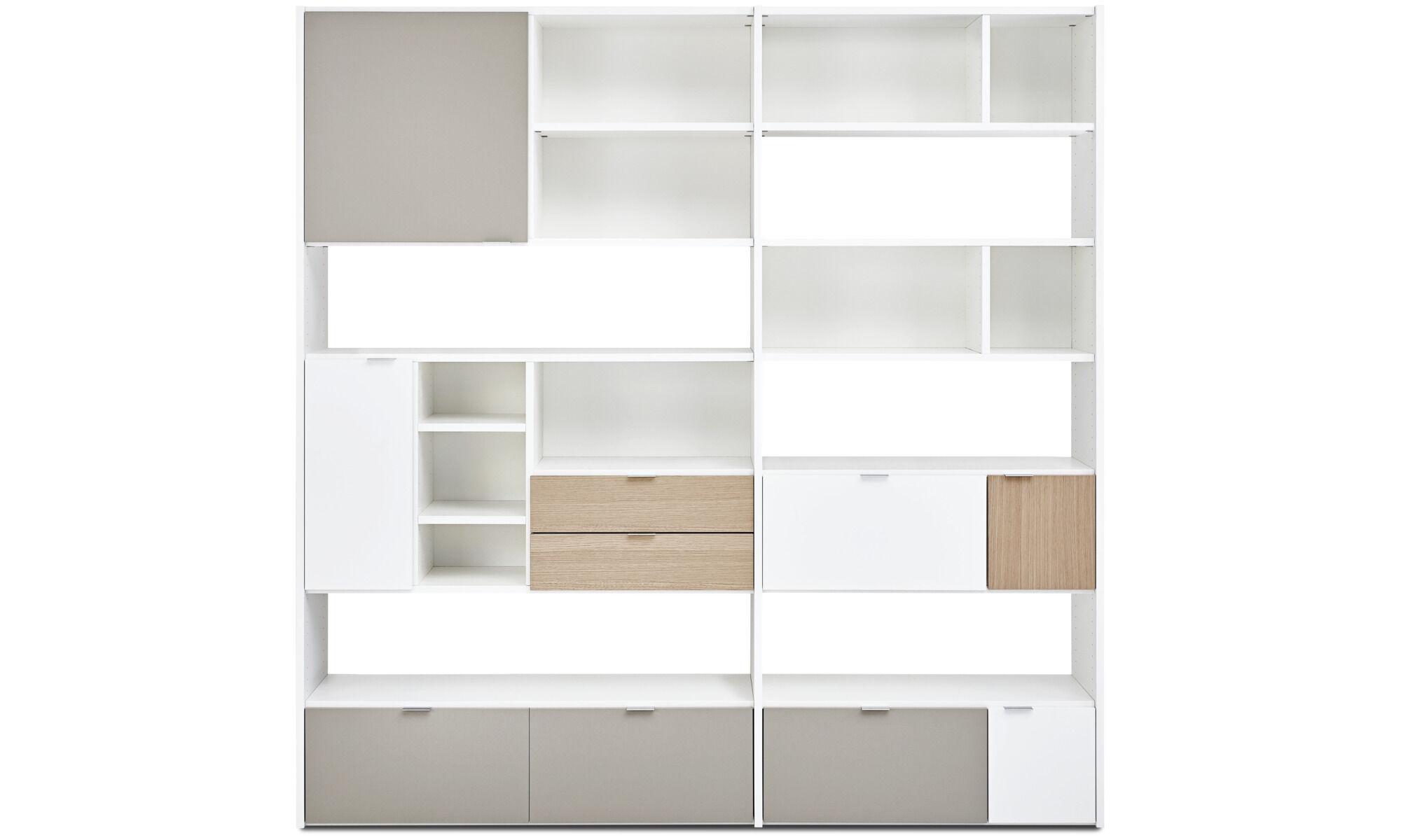 New Designs   Copenhagen Wall System   White