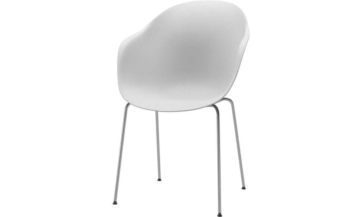 Dining chairs - Adelaide chair (for in and outdoor use) - White - Metal