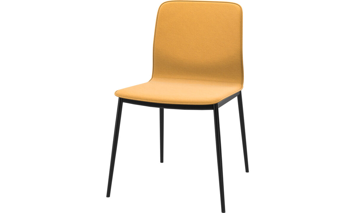Dining chairs - Newport dining chair - Yellow - Fabric