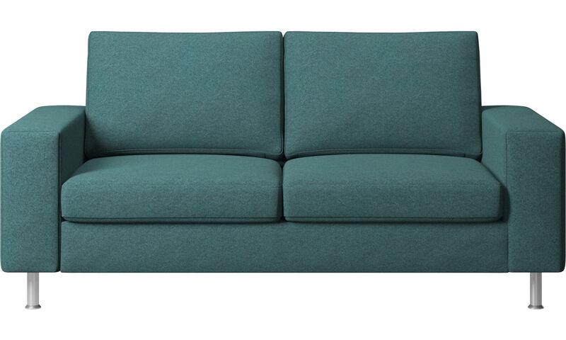 Sofy - sofa Indivi 2 - Zielony - Tkanina