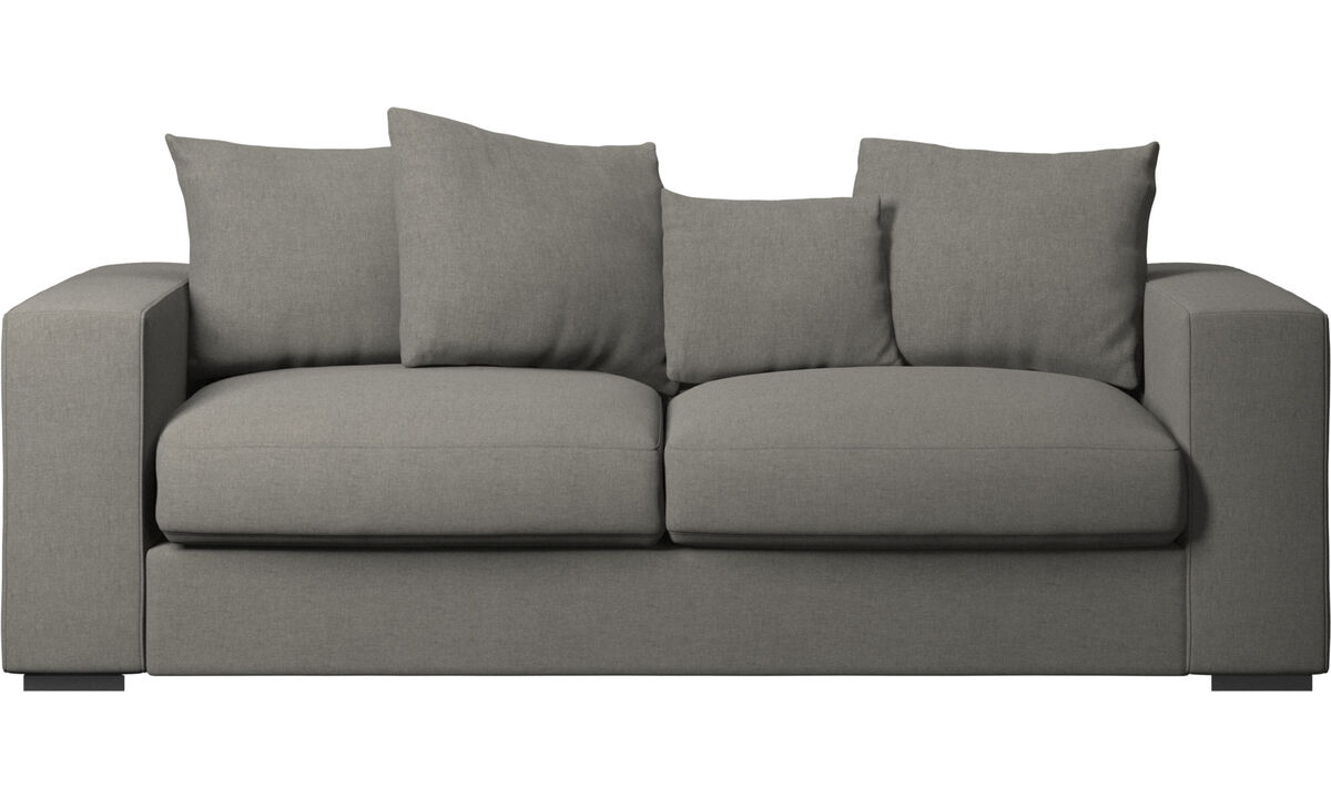 New designs - Cenova sofa - Grey - Fabric