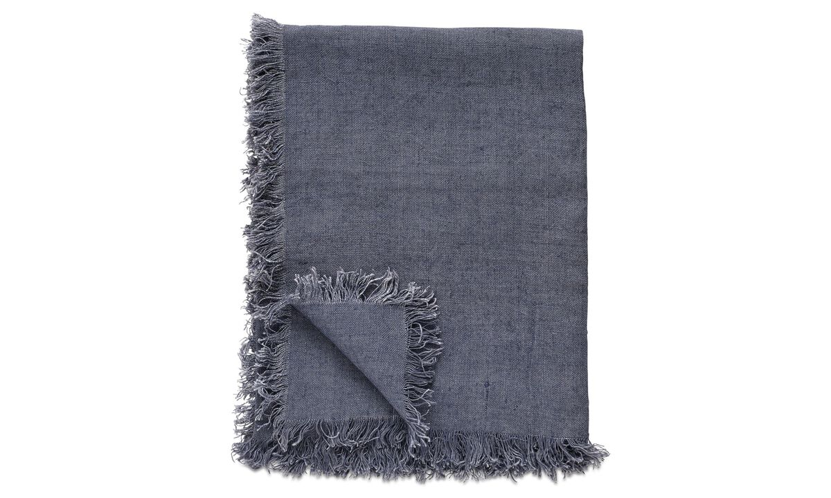 Throws & bedspreads - Linen throw - Fabric