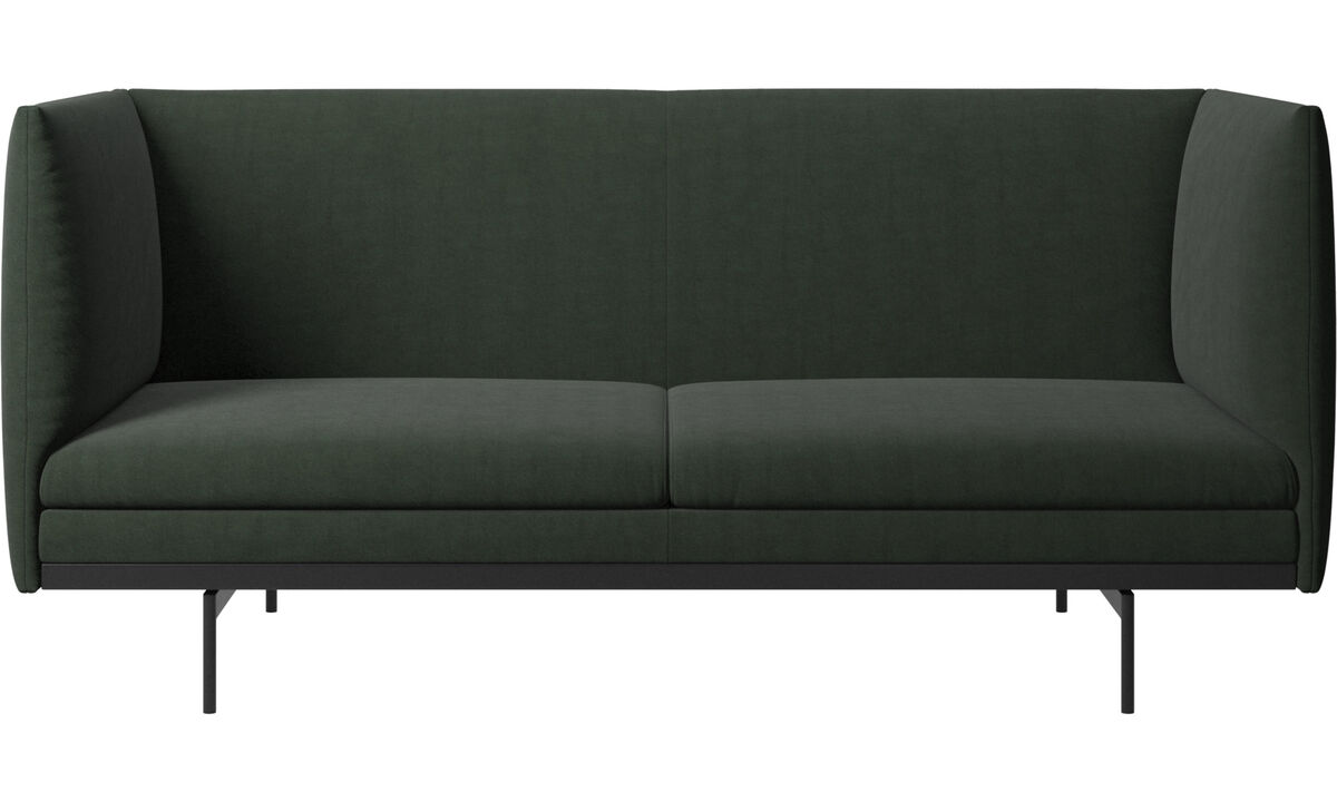 2 seater sofas - Nantes sofa - Green - Fabric