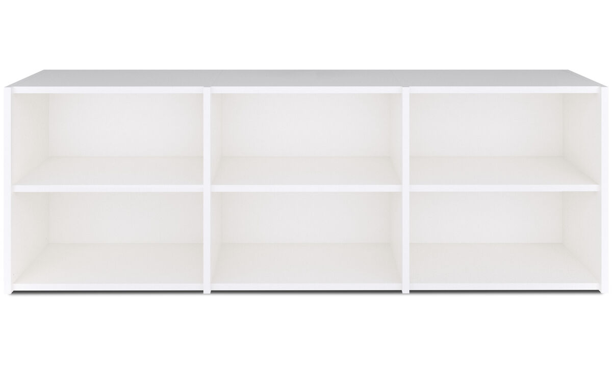 Wall Units - Copenhagen wall system - White - Lacquered