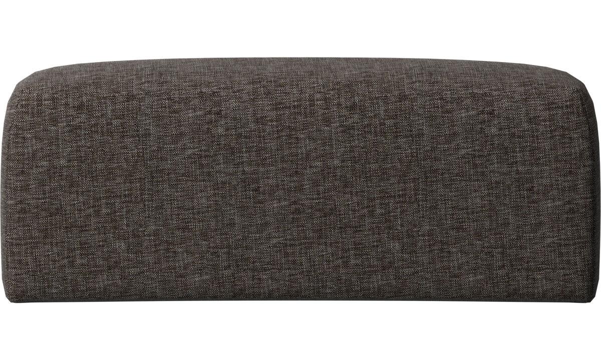 Accesorios para muebles - Cojin de respaldar Atlanta - En marrón - Tela
