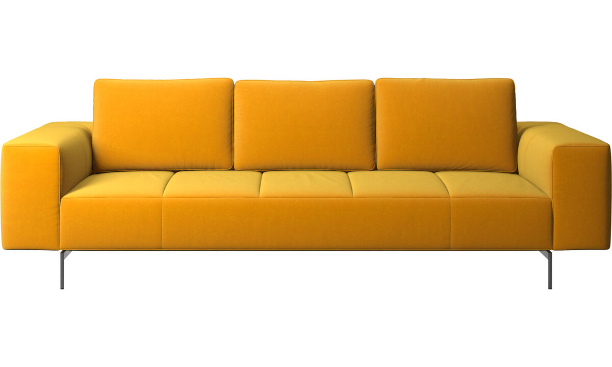 3 seater sofas - Amsterdam sofa - Orange - Fabric