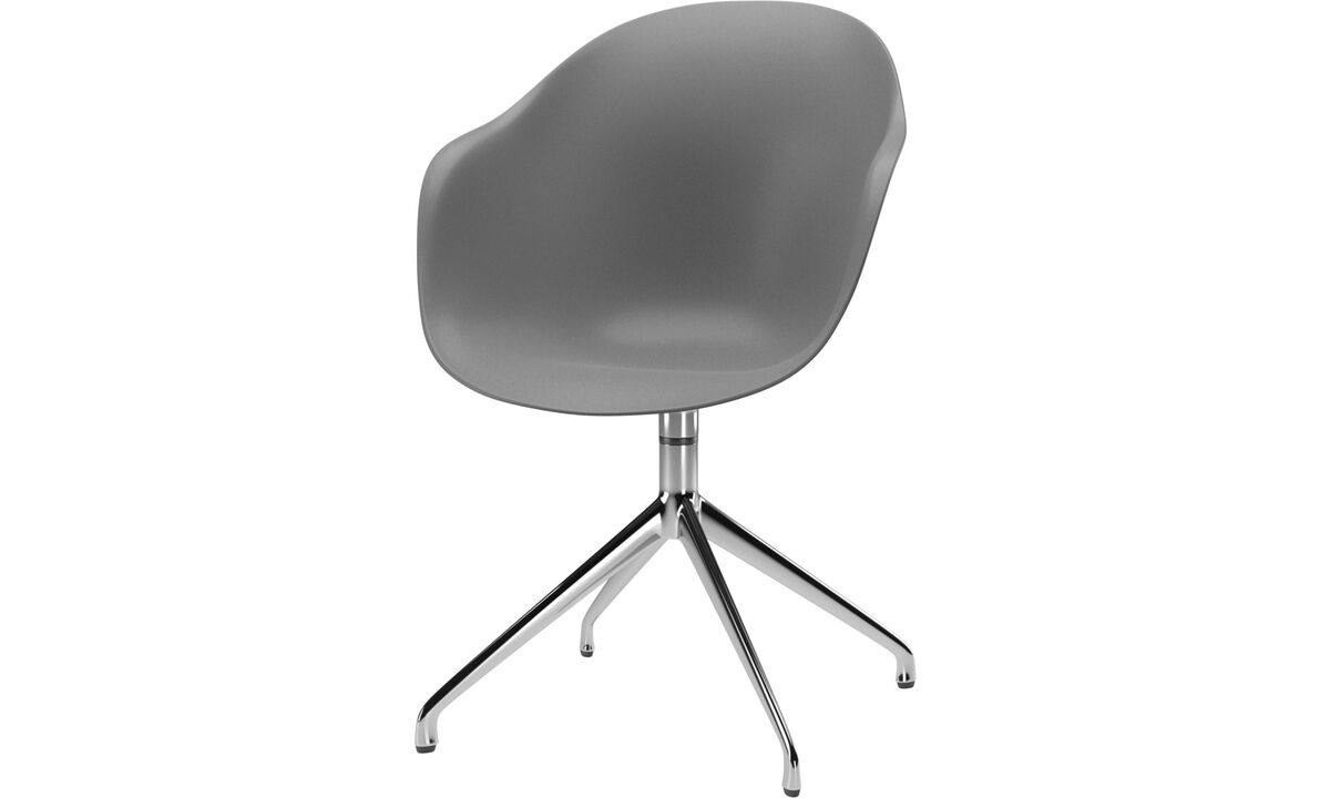 Design furniture in time for Christmas - Adelaide chair with swivel function - Grey - Metal