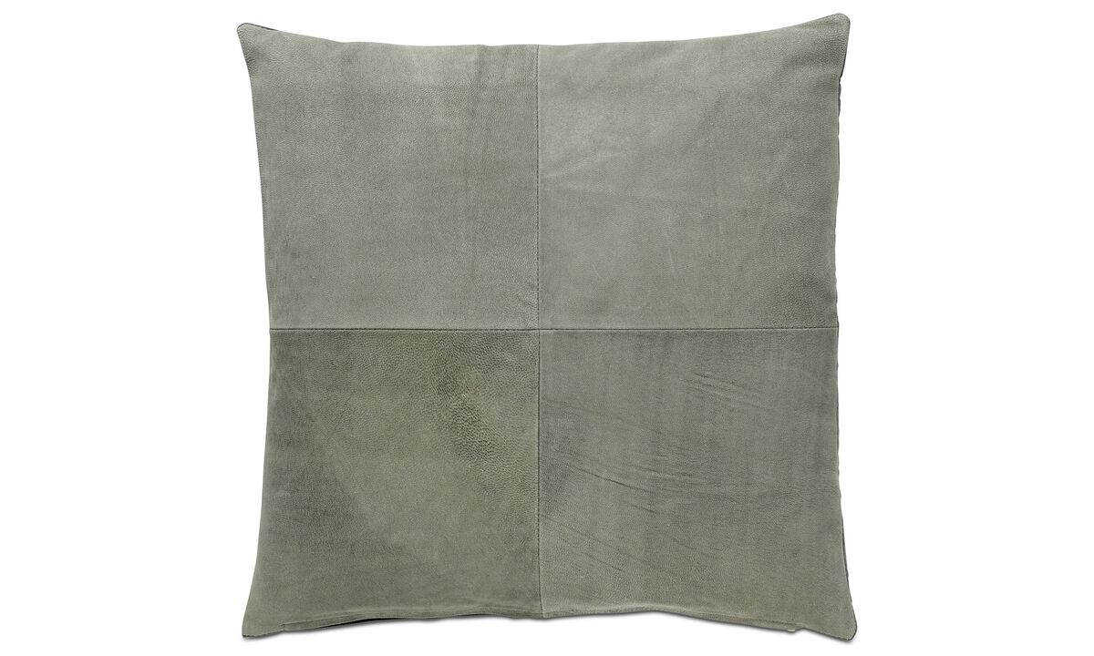 Cushions - Leather cushion - Leather