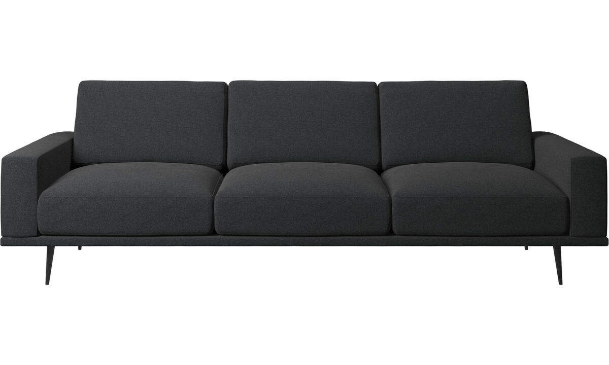 3 seater sofas - Carlton sofa - Grey - Fabric