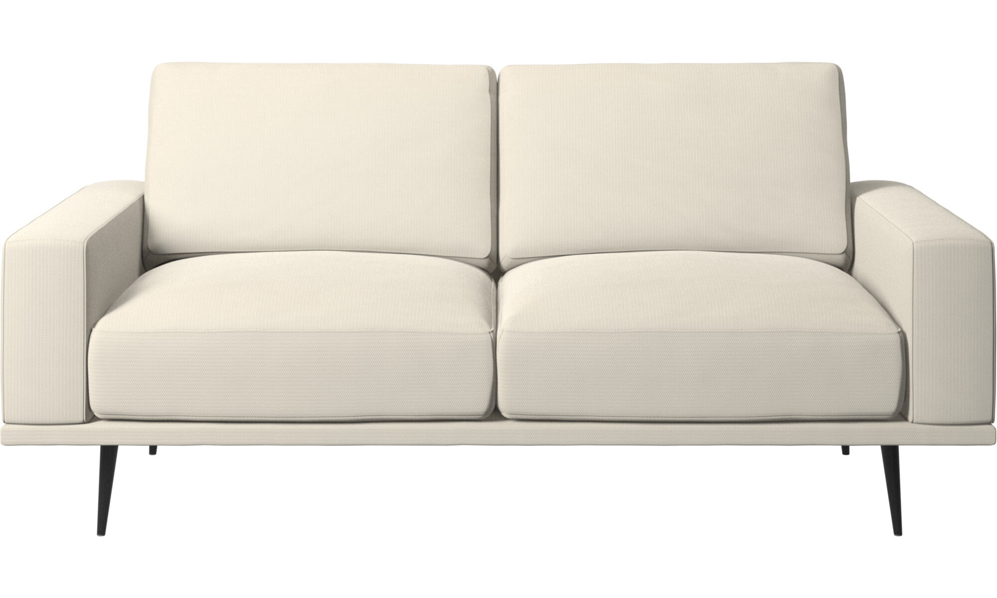 New Designs   Carlton Sofa   White   Fabric