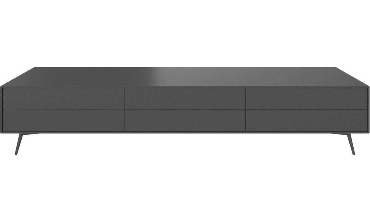 Tv-møbler - Fermo Tv-møbel - Grå - Lakeret
