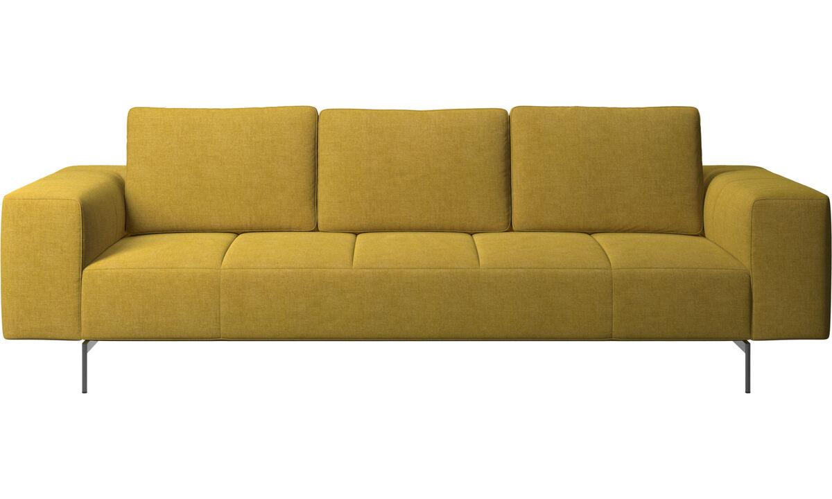 3 seater sofas - Amsterdam sofa - Yellow - Fabric