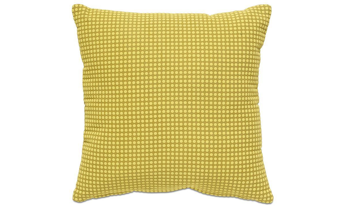 Cushions - Dot cushion - Yellow - Fabric