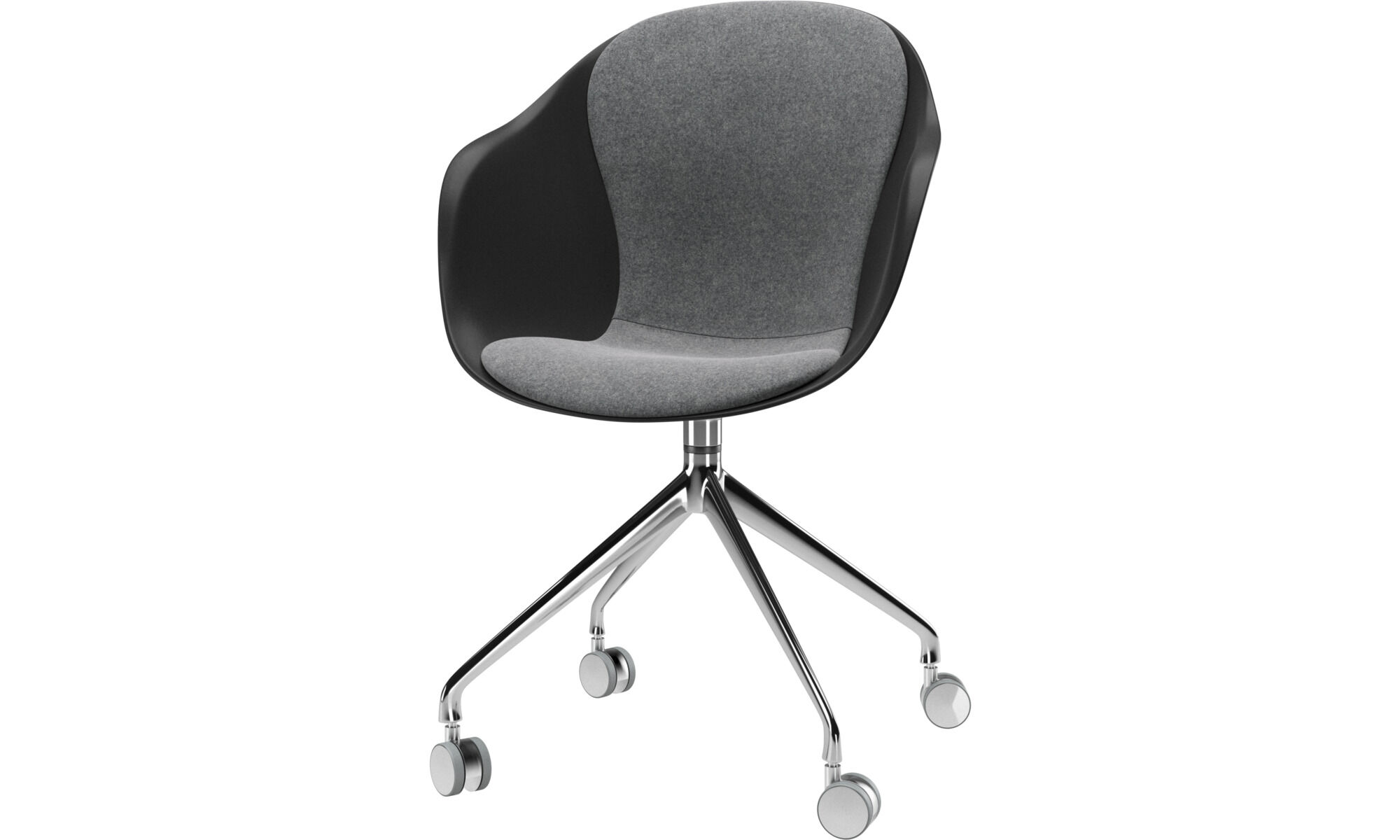 Adelaide Chair With Swivel Function And Wheels