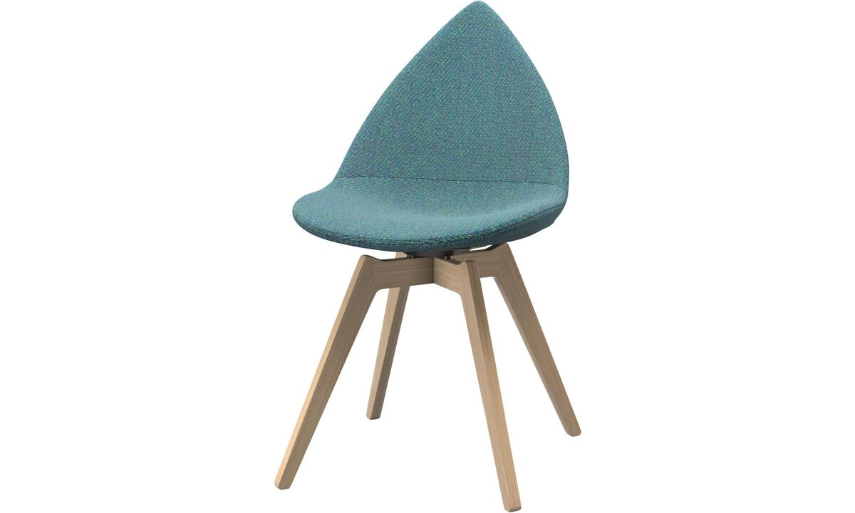 Dining chairs - Ottawa chair - Green - Fabric