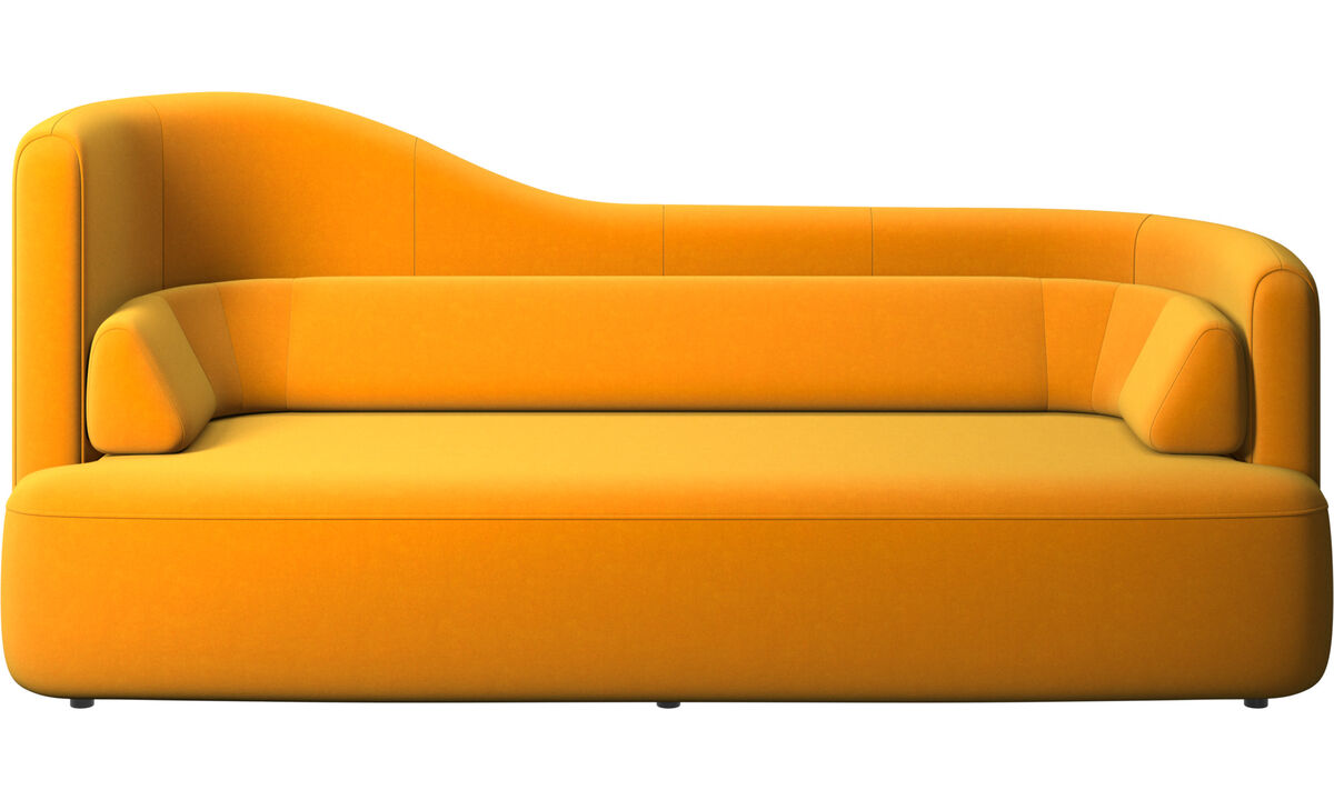 2.5 seater sofas - Ottawa sofa - Orange - Fabric