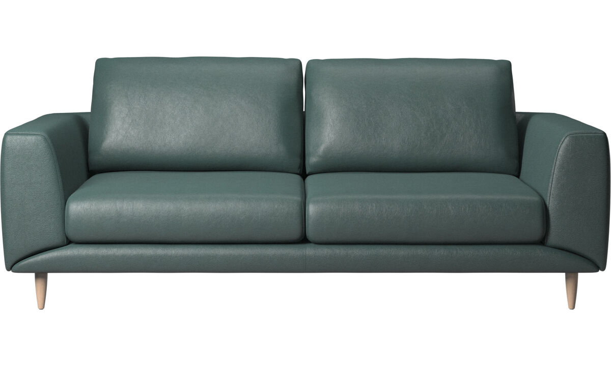 2.5 seater sofas - Fargo sofa - Green - Fabric