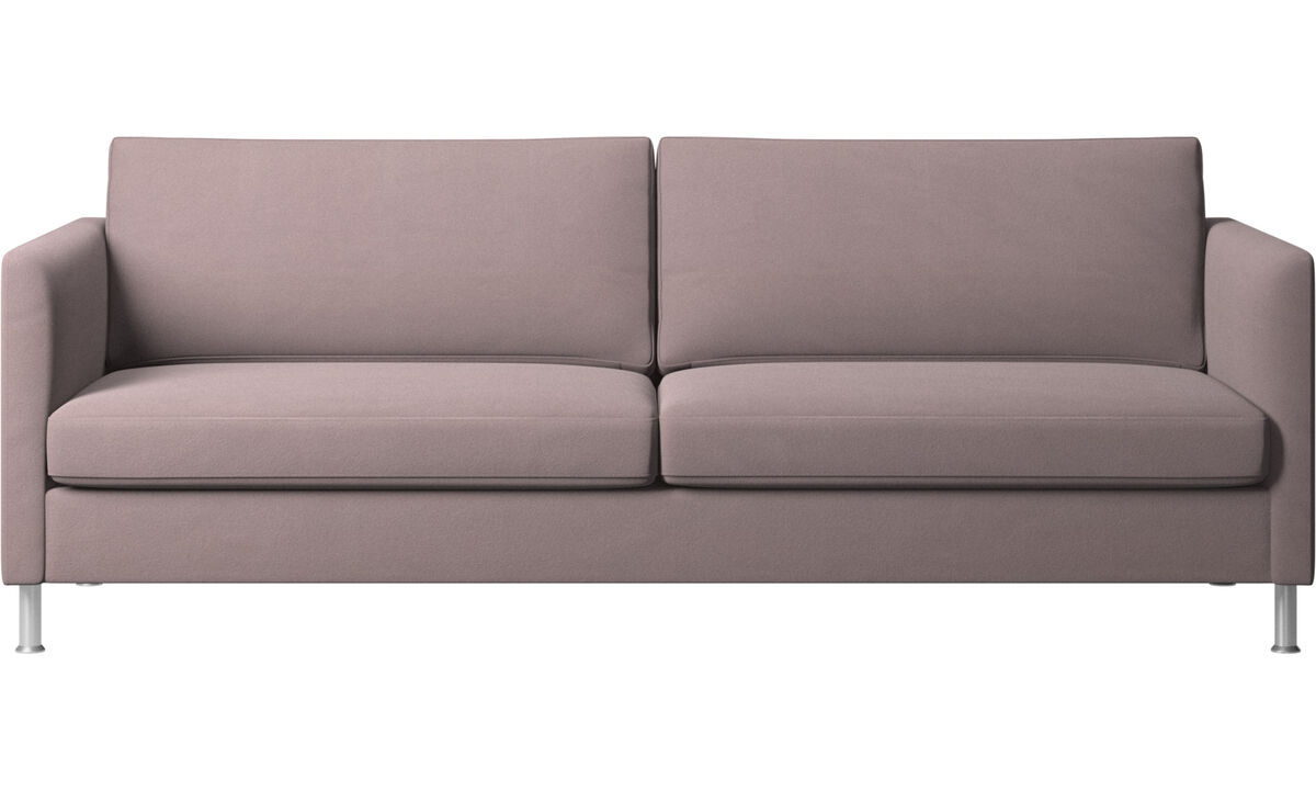 3 seater sofas - Indivi divano - Viola - Tessuto