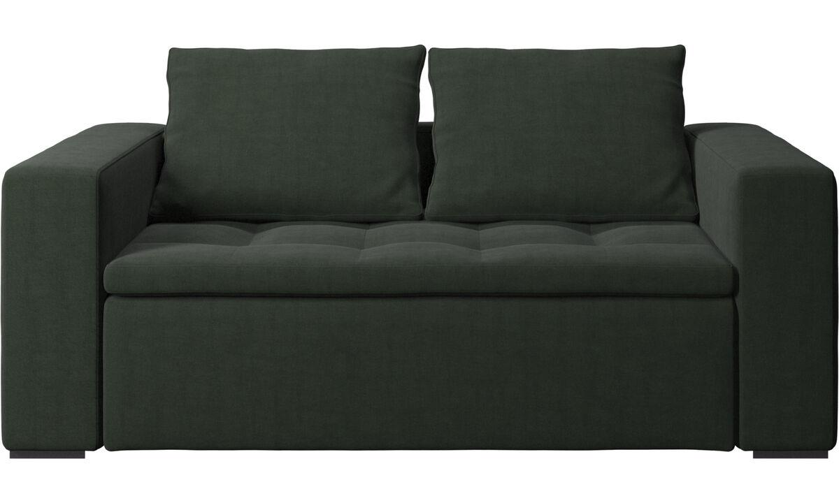 2 seater sofas - Mezzo divano - Verde - Tessuto