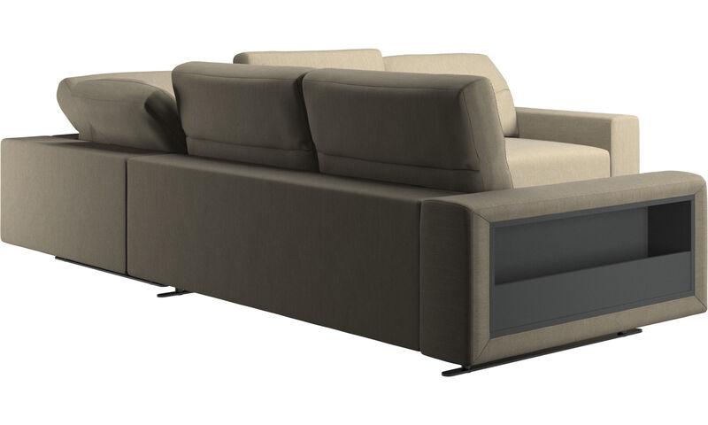 ecksofas hampton ecksofa mit verstellbarer r ckenlehne. Black Bedroom Furniture Sets. Home Design Ideas