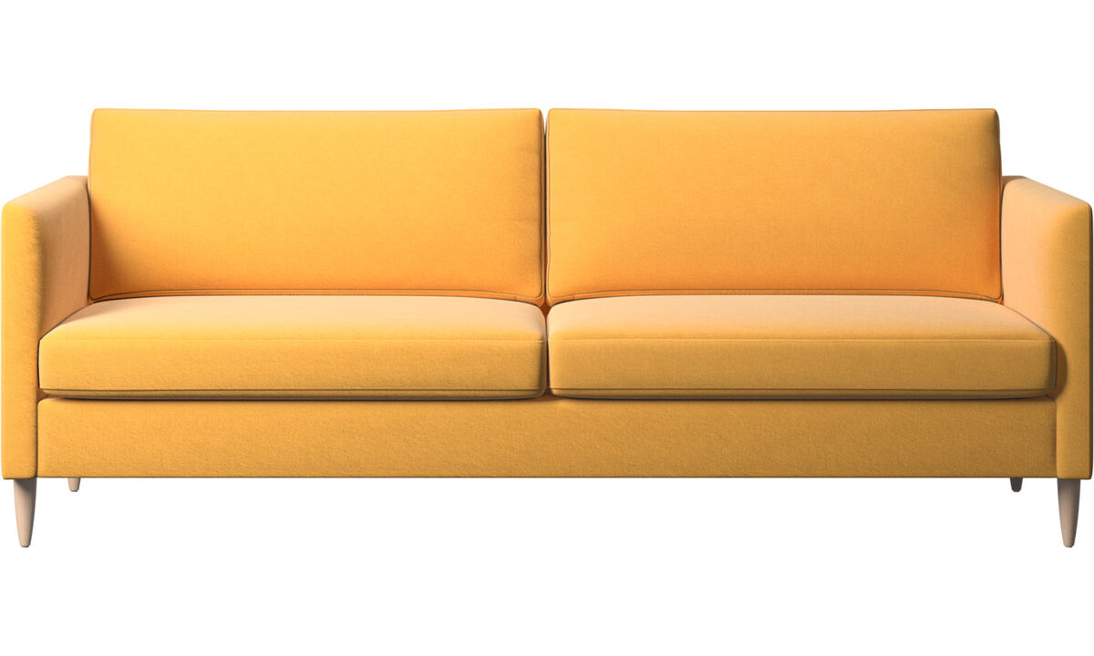 3-sitzer Sofas - Indivi Sofa - Gelb - Stoff