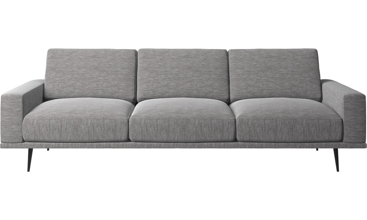 3 seater sofas - Carlton sofa - Grey - Fabric