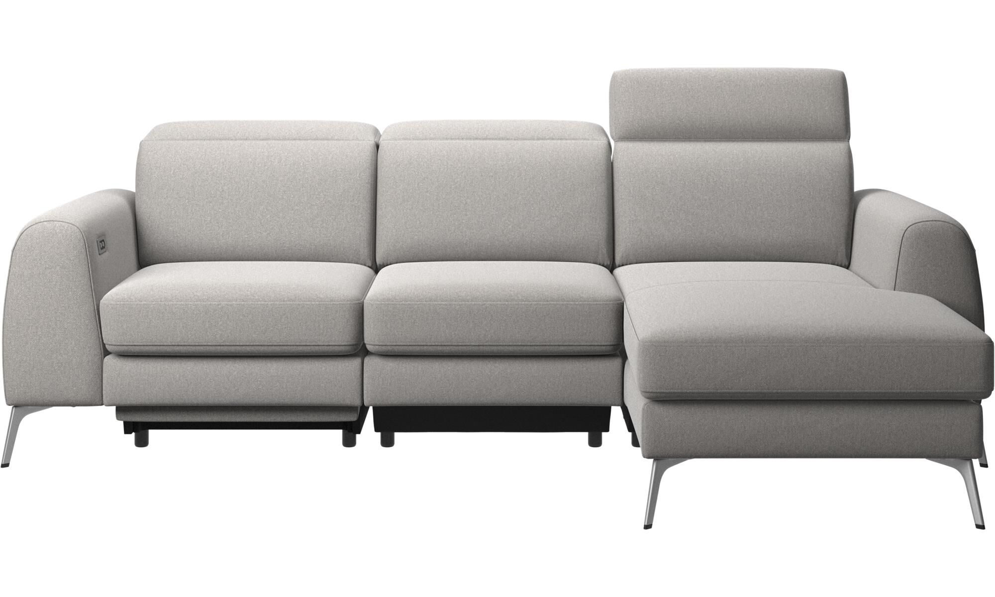 Chaise longue sofas - Madison sofa with resting unit and electric seat head and  sc 1 st  BoConcept : chaise longue sofa - Sectionals, Sofas & Couches