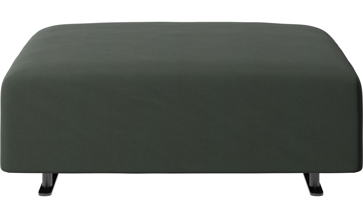 Footstools - Hampton footstool - Green - Fabric