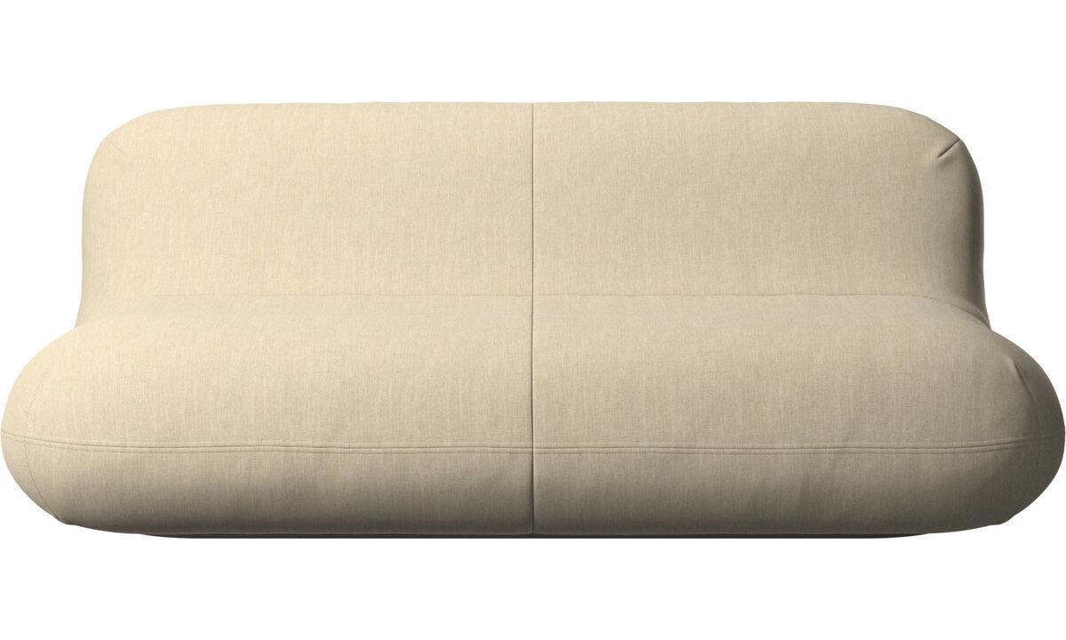 2,5 θέσιοι καναπέδες - Καναπές Chelsea - Καφέ - Ύφασμα