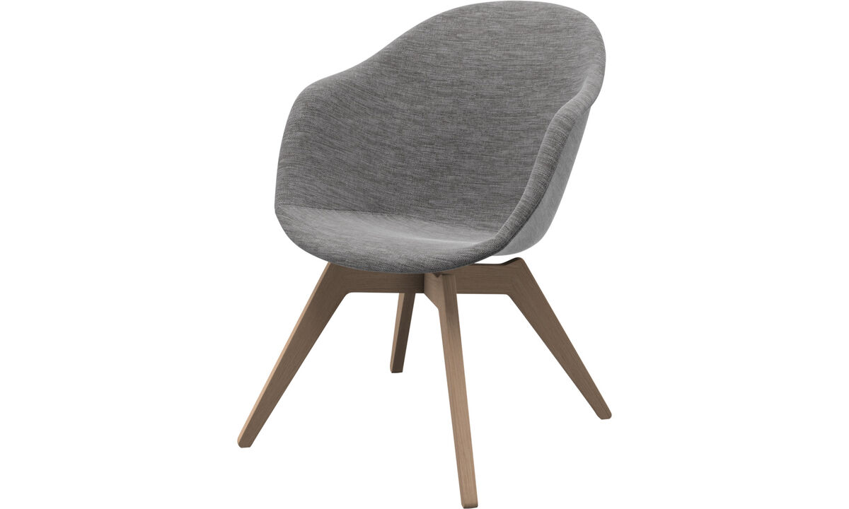 Adelaide 休閒椅 - 灰色 - 布艺