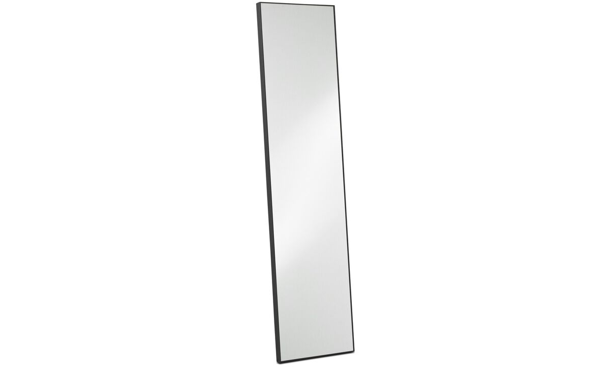 Mirrors - Medina mirror - Black - Oak