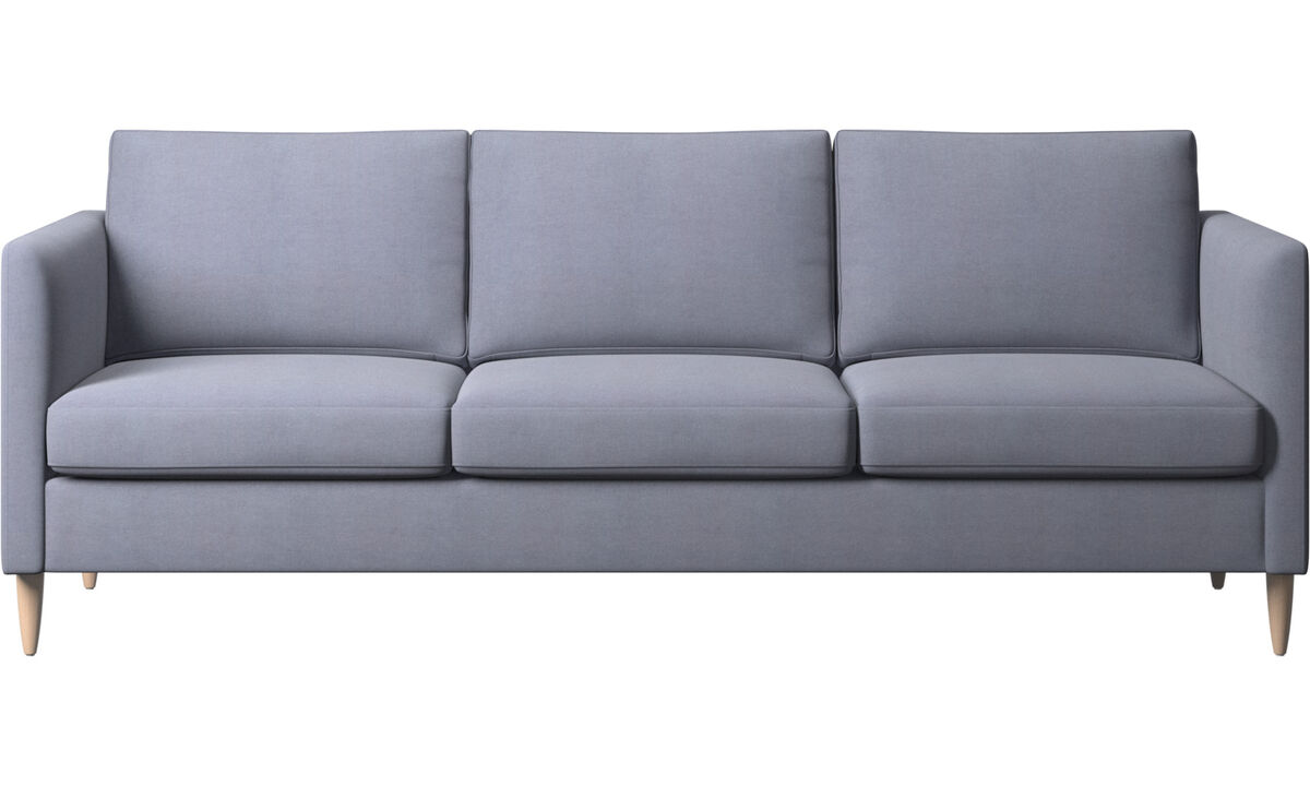 3 seater sofas - Indivi sofa - Blue - Fabric
