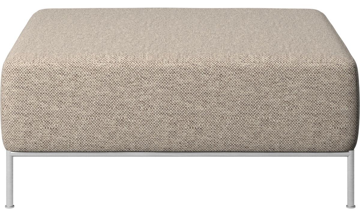 Modulære sofaer - Miami puf - Beige - Stof