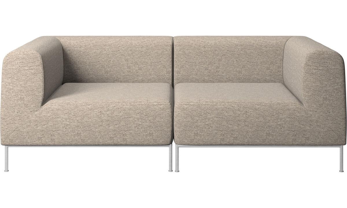 Двухместные диваны - Диван Miami - Бежевого цвета - Tкань