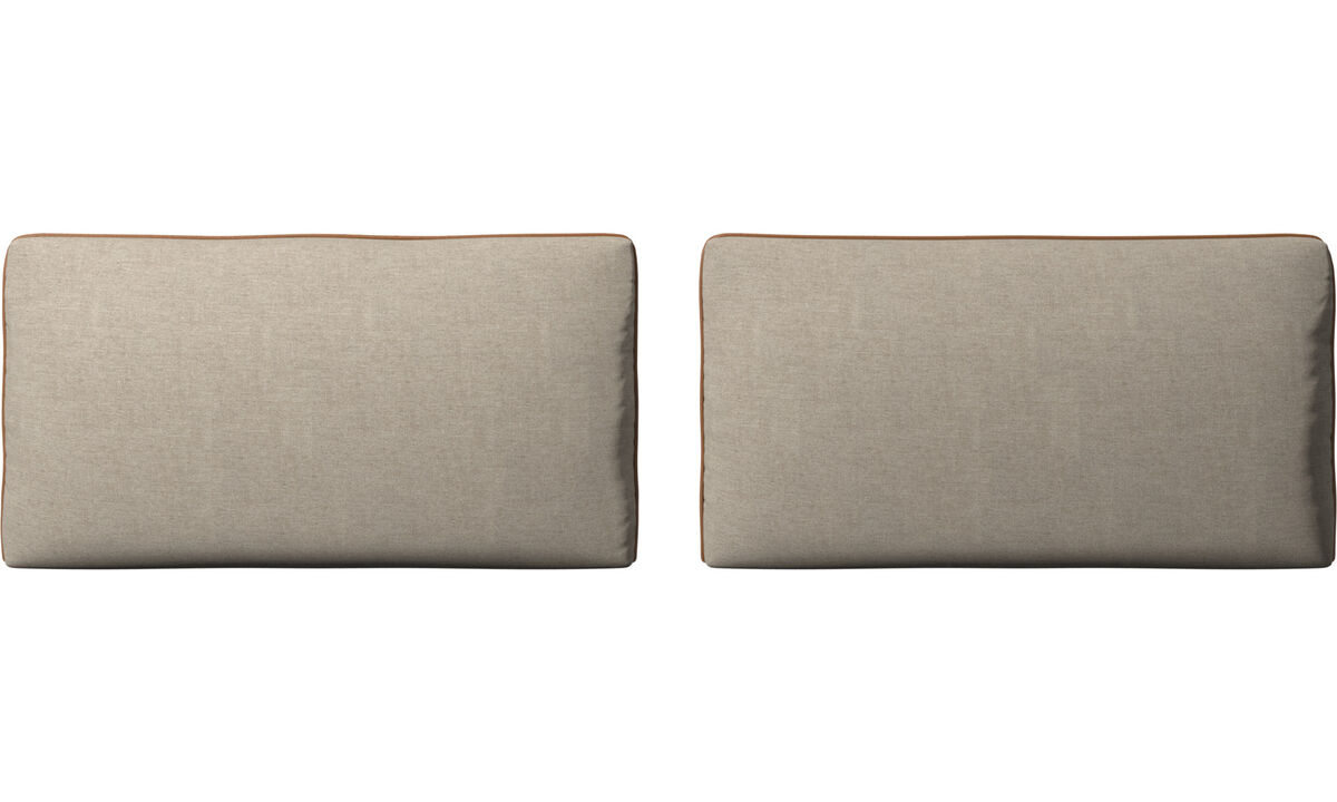 Furniture accessories - Nantes sofa cushions - Beige - Fabricleather