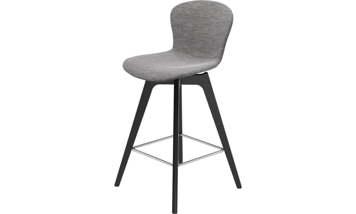 Барные стулья - Барный стул Adelaide - Серого цвета - Tкань