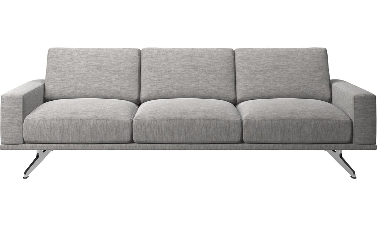 3 seater sofas - Carlton sofa - Gray - Fabric