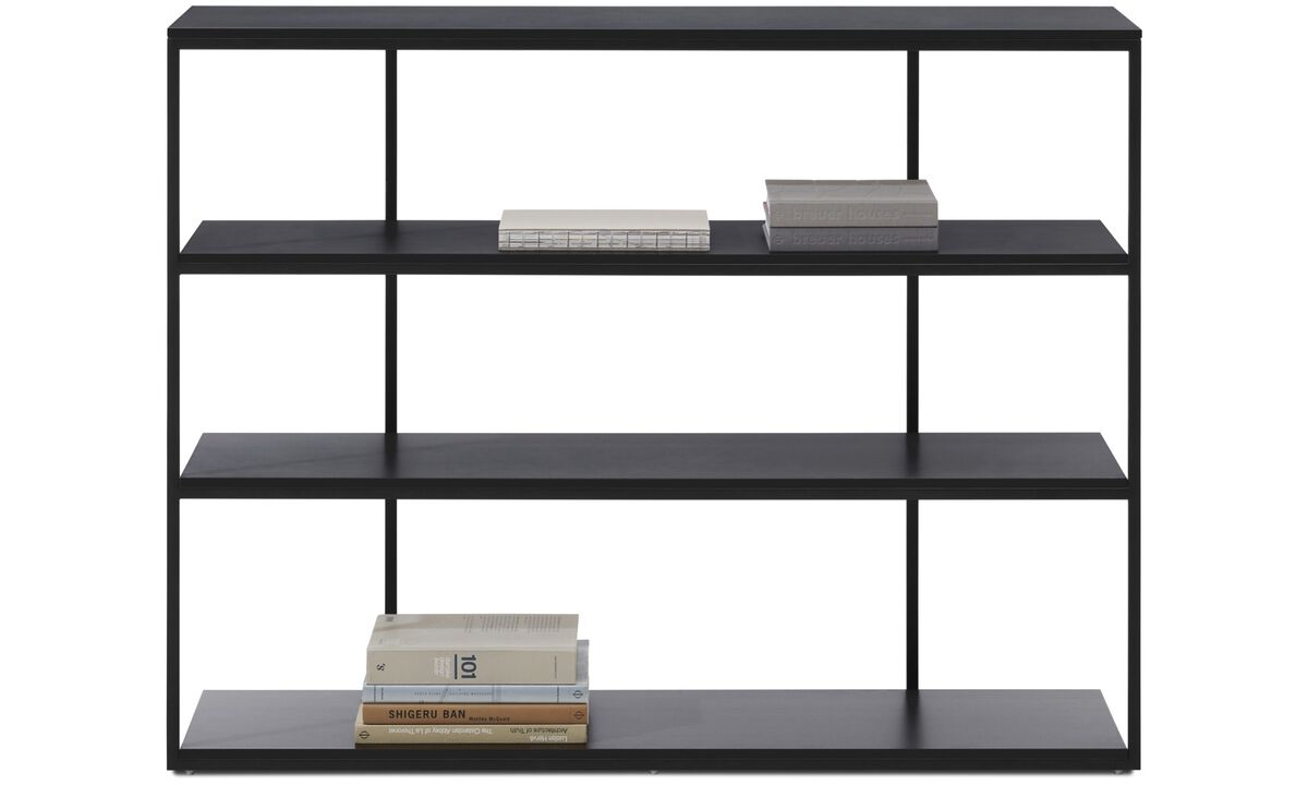 Wall systems - Bordeaux console table - square - Grey - Lacquered